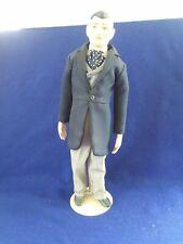 Franklin Mint Heirloom Porcelain Gone with the Wind Rhett Butler Doll