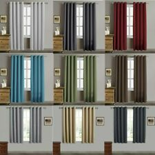 2 Panel Collection Blackout Curtain Light Blocking Window Panel for Bedroom Gift