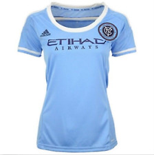 New Women'S Adidas New York City Football Club Soccer Replica Game Jersey Xl