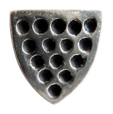 Duchy Of Cornwall Shield Pewter Pin Badge - Hand Made in Cornwall