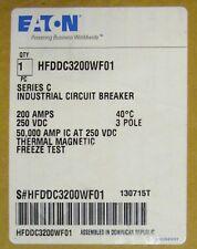 Eaton Cutler Hammer Hfddc3200Wf01 Hfd-Dc Circuit Breaker 200 Amp Hfddc3200