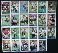 1991 Topps San Diego Chargers Team Set of 23 Football Cards