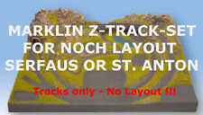Marklin Z Track-Set for NOCH Z Scale Layout Serfaus 87010 or St. Anton 87015