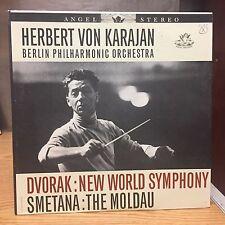 Herbert Von Karajan Berlin Philharmonic Orchestra LP VG+ Hits Dvorak Smetana