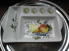 LOVELY CERAMIC HORS D'OEUVRE DISH made in ITALY