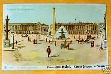 Hold To Light Ad Postcard Chicoree Boulangere Cardon Duverger Concorde Paris udb