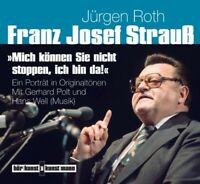FRANZ JOSEF STRAUß-MICH KÖNNEN SIE NICHT STOPPEN, 2 CD NEU ROTH,JÜRGEN