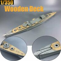 1/350 Wooden Deck Masking Sheet for Trumpeter 05353 HMS Cornwall Ship Model Kits