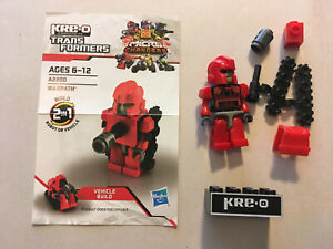 Transformers Kre-O Micro Changer WARPATH LOOSE COMPLETE