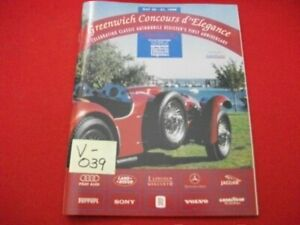 ROAD & TRACK PRESENTS 3rd GREENWICH CONCOURS d'ELEGANCE MAY 30-31, 1998 PROGRAM
