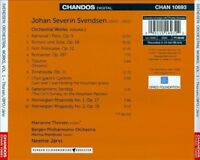 Svendsen: Orchestral Works Vol. 1, New Music