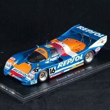 Porsche 962C Brun Larrauri Pareja 24h Le Mans 1990 Repsol 1/43 Spark S1916