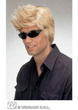 Blonde David Spiked Wig