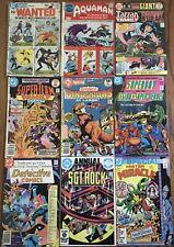 GIANT Lot of 9 Detective Comics #500 DC Special 8 27 Super-Team Tarzan Family 65