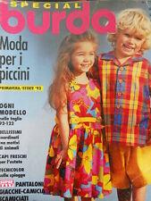 BURDA Special Primavera Estate 1993  - con cartamodelli  M2018 E211 [M8]