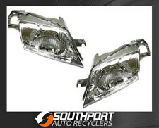 FORD LASER HEAD LIGHTS LAMPS SUIT KN-KQ *NEW* 1998-2002 MODELS