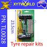 Tubeless Tyre Tire Puncture Repair Plug Tool Kit Vehicle Car Motor cycle Bike