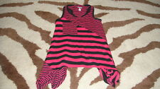 AMY COE 12M 12 MONTHS PINK NAVY BLUE STRIPED DRESS