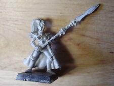 Juegos taller Warhammer ejército elfo noble Protector de soltera con lanza fuera de imprenta
