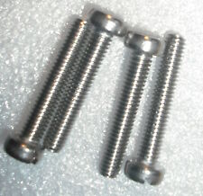 4x 2BA cheesehead screws stainless steel Hiwatt British amplifiers chassis bolt