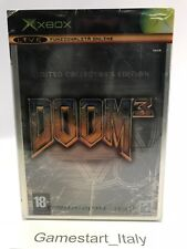 DOOM 3 LIMITED STEELBOOK COLLECTOR'S EDITION (XBOX) NUOVO SIGILLATO ITA NEW