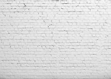 7X5FT Rustic White Brick Wall Themed Vinyl Studio Backdrop Prop Photo Background