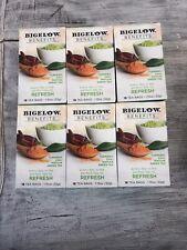 96 bags Tea Results Turmeric Chili Matcha Green Tea Bigelow Benefits ex 08/2002
