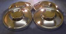 JAGUAR DAIMLER CHROME HUB CAP XJ6 XJ12 SERIES 2 & V12 SERIES 3 E-TYPE C30283 X 4