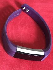 Fitbit Alta Plum / Stainless Steel Activity Tracker - Small Band