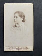 Victorian Carte De Visite CDV: Young Lady: Monsieur George: Bedford
