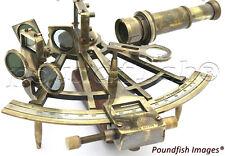 "Marine Captain Sextant – Brass Nautical Sextant 8"""