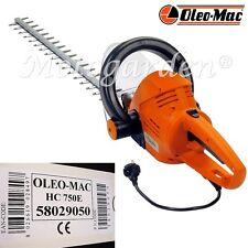 Tosasiepi elettrico Oleo Mac HC 750 E con impugnatura orientabile   700watt 70cm