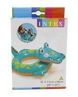 Intex Inflable Animal Nadar Anillo Playa Piscina Aprendizaje Flotar Juguete Leo
