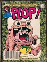 PLOP #63 MAGAZINE OF WEIRD HUMOR DC BLUE RIBBON DIGEST ~ 1985 DC - Wally Wood