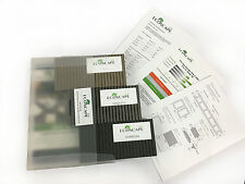 Composite Decking Sample Pack Clarity Ash Charcoal Graphite Greys Wood Plastic