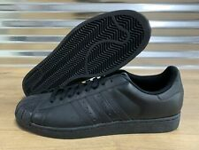 Adidas Superstar 2 II Originals Shoes Triple Black Leather G14748 ALL SIZE NWT