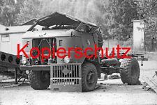 J39 NVA Unfall IFA W50 Totalschaden DDR, Foto 20x30 cm