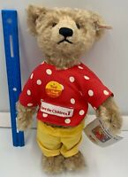 """Vintage Steiff Jointed Teddy Bear 654442 Ted 12"""" Germany Rare Limited Ed /3000"""