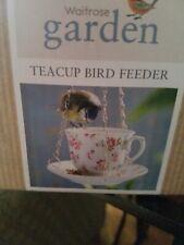 New Teacup Bird Feeder