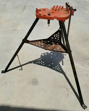 Ridgid 450 Tristand 18 5 Chain Pipe Vise Threading Stand