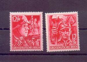 Deutsches Reich 1945 - Die beiden letzten Marken 909/910 - Michel 80,00 € (144)