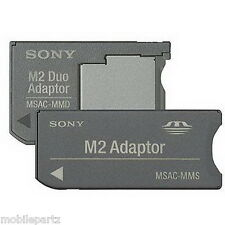 Sony Memory Stick micro M2 vers Memory stick standard / PRO Duo carte adaptateur