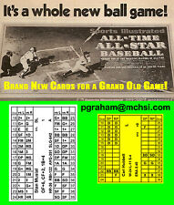 Avalon Hill Sports Illustrated Superstar Baseball SI new for 2017