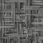 P&S Times 42098-20 Design Tapete Vlies schwarz grau metallic 3D Optik (2,50€/1qm