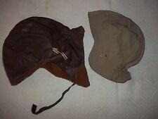 2 Teile alter Motorrad -Haube-Kopfschutz-Motorradkape-Mütze-