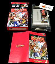 FINAL FIGHT Super Famicom Nintendo SNES SFC Jap Good Condition Capcom Complete