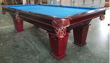 8Ft. Pool Tunier Billardtisch mit Schieferplatten 3cm Billard Massivholz Nr.2