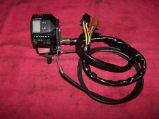 Yamaha 86-93 XVZ13 Venture Royale Left Handlebar Controls Switches Lights Horn