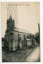 87 BUJALEUF Eglise écrite en 1920 du Village  voir dos   E25 2018