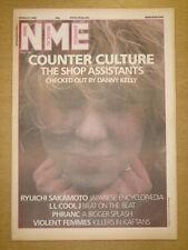 NME 1986 MAR 29 SHOP ASSISTANTS LL COOL J PHRANC FEMMES